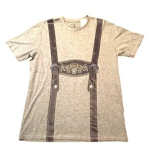 Other - Authentic Oktoberfest Lederhosen Shirt - Germany